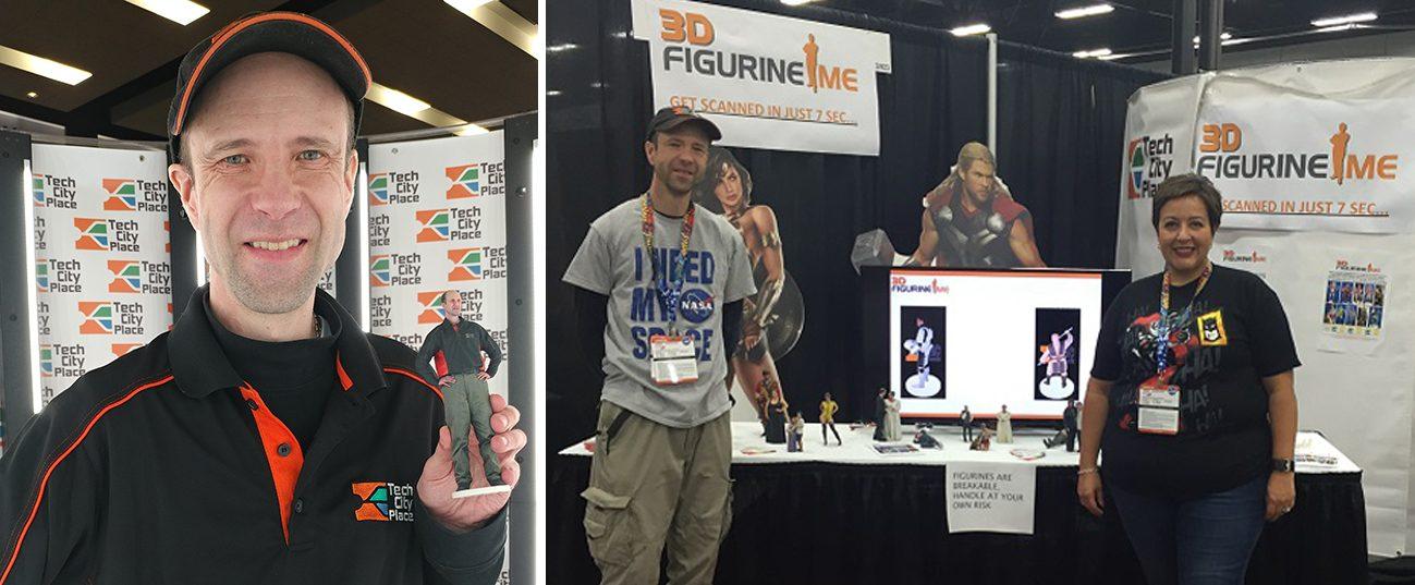 3D Figurine Me Edmonton Comic Expo